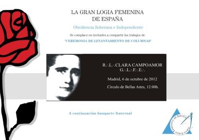 Respetable Logia Clara Campoamor